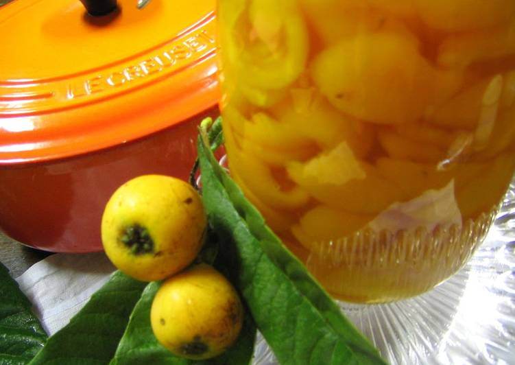 Loquat Compote in 20 Minutes