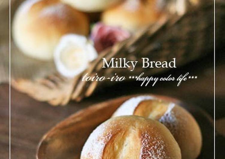 Really Popular Milky Bread Rolls! Made with a Bread Machine