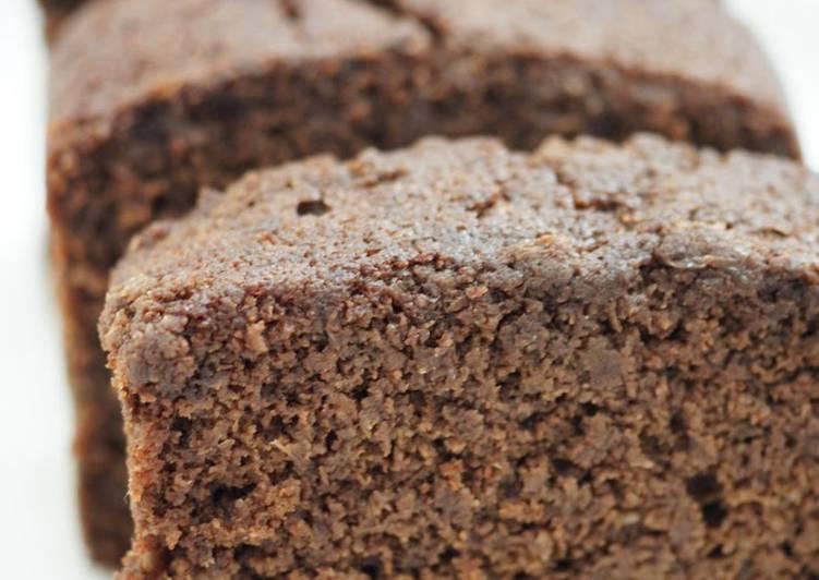 Chocolate Okara Cake - Laurie G Edwards