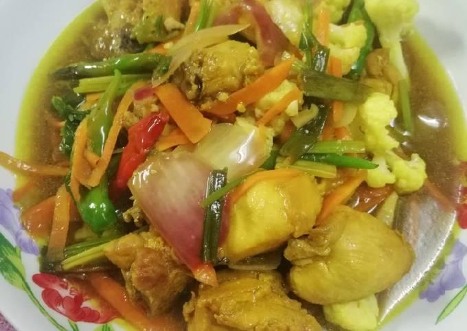 Ayam Goreng Kunyit Sweet Sour