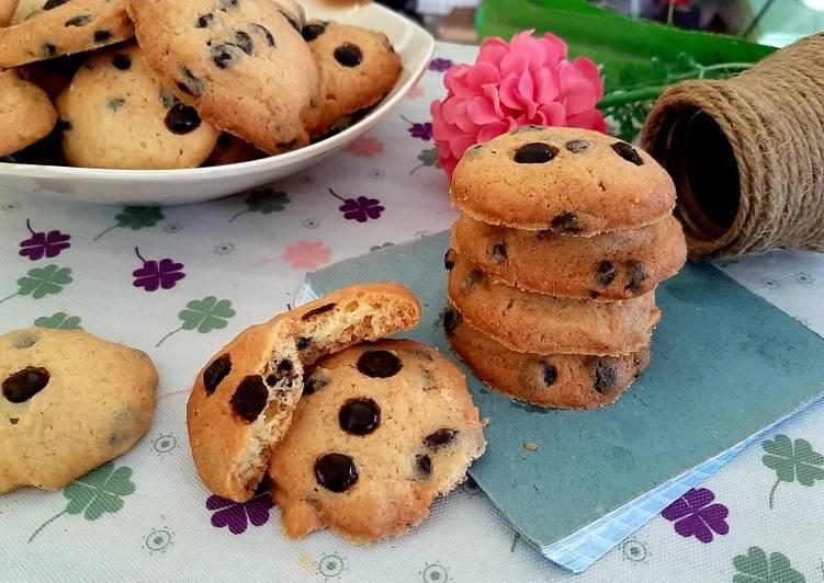 Choco chip Cookies Cinamon Renyah