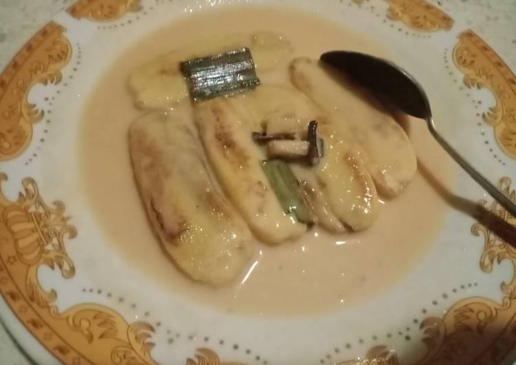 Pisang gapit (hasil recook)