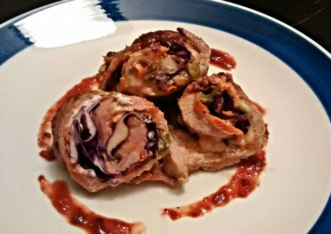 Easiest Way to Make Appetizing Hippie Pork Roulades