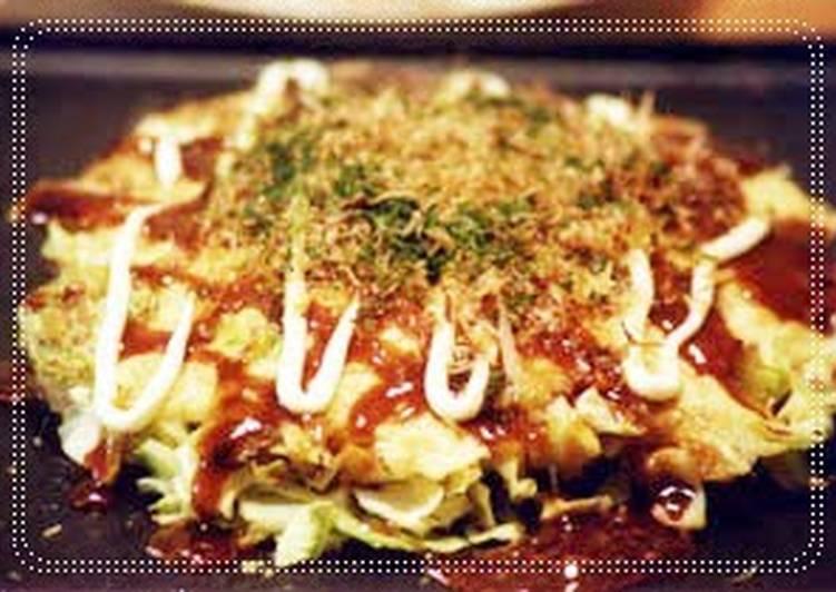 Step-by-Step Guide to Make Speedy My Family's Okonomiyaki