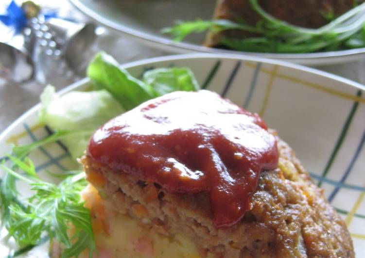 Dome Shaped Meatloaf