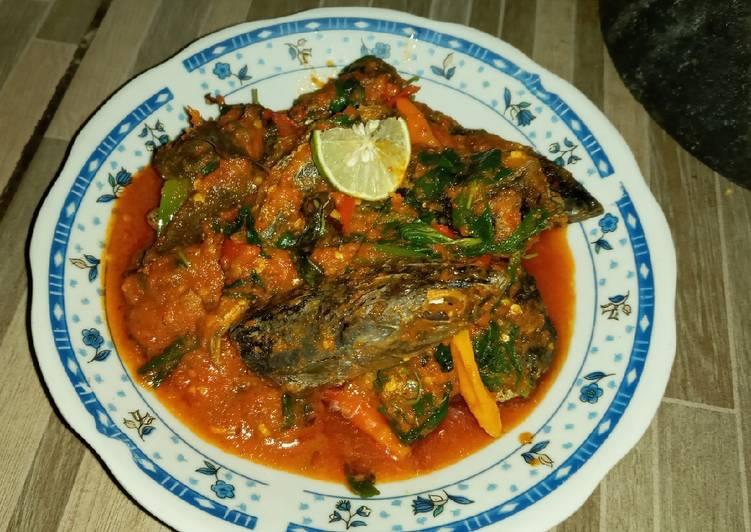 Ikan Tongkol Rica-rica Kemangi