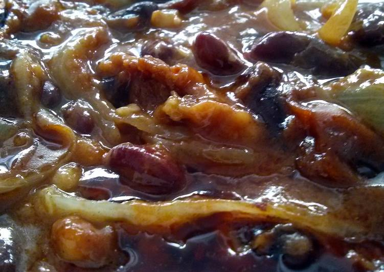 sanda's simple sausage beans