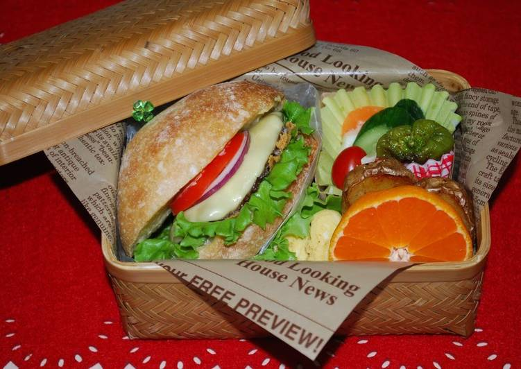 Sasebo Burger Bento Box