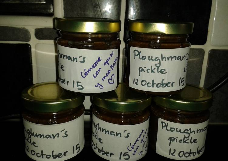 Easiest Way to Cook Delicious My Ploughman's Pickle