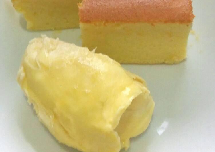 Ogura Cake Durian Montong