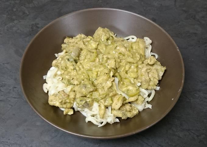 Simple Thai Chicken Curry