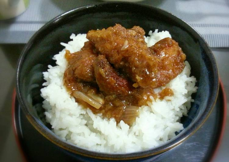 Fried Chicken with Teriyaki Sauce