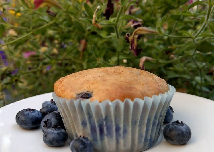 Simple Way to Make Top-Rated Blueberry Muffins 💜