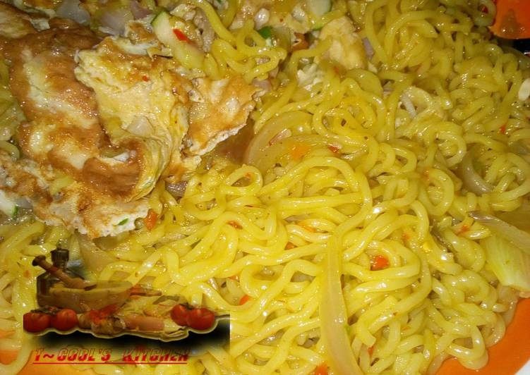 Noodles and Egg