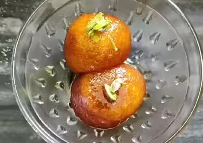 Recipe: Delicious Sooji gulab jamun