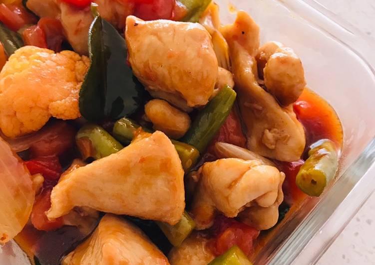 Chicken Paprik (Malaysians' Favorite)