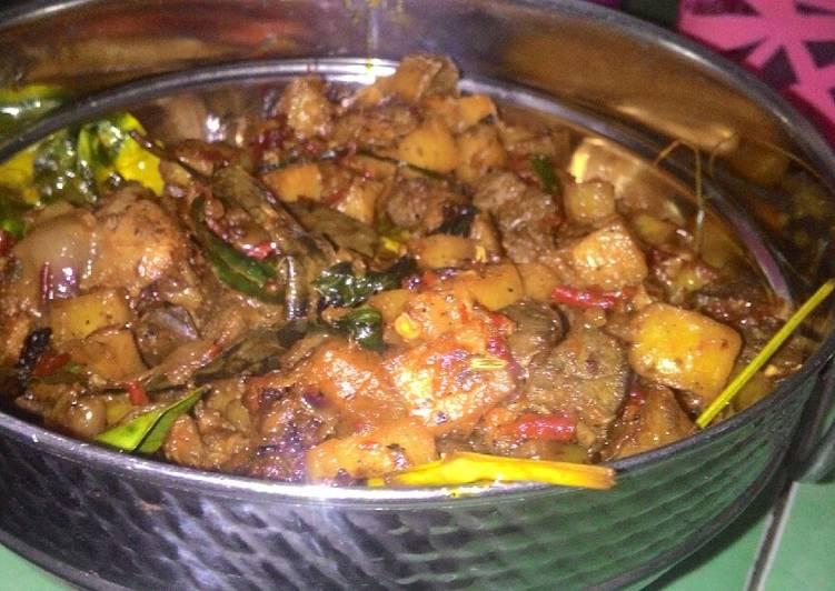 Resep sambal goreng kentang ati sapi dan rendang sapi