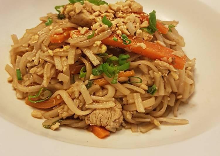 La Meilleur Recette De 36• 🍜 Pad Thaï au poulet 🥢