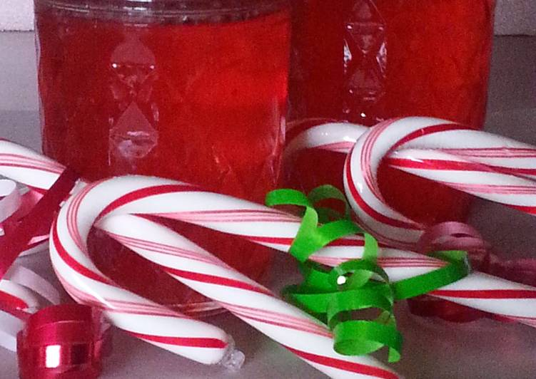 Simple Way to Make Ultimate CANDY CANE SYRUP
