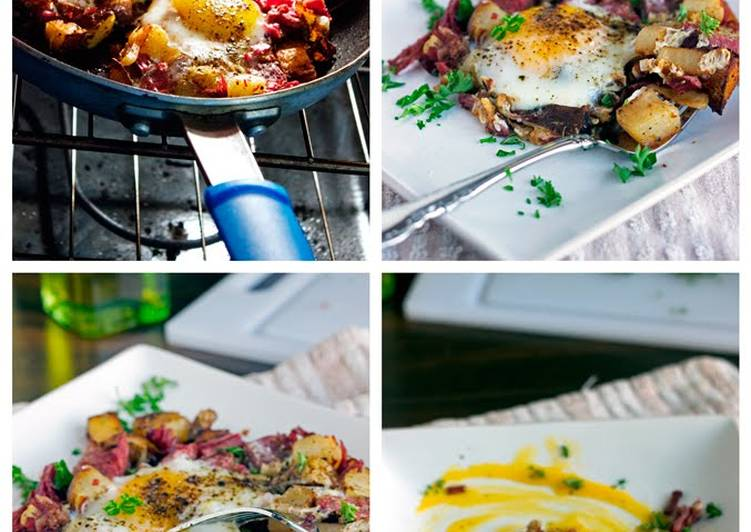 Deciding On The Best Foods Can Help You Stay Fit And Also Healthy Corned Beef Hash and Eggs