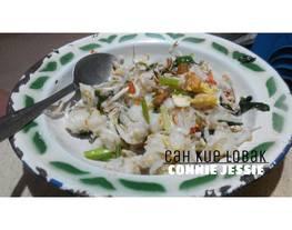 Cah Kue Lobak/ Kue lobak tiaw (Kue lobak masak kwetiau)