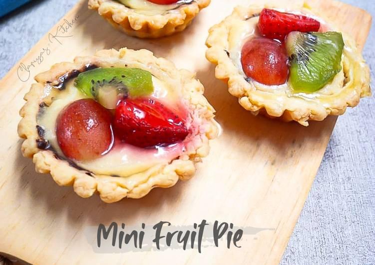 Resep Mini Fruit Pie Paling Gampang