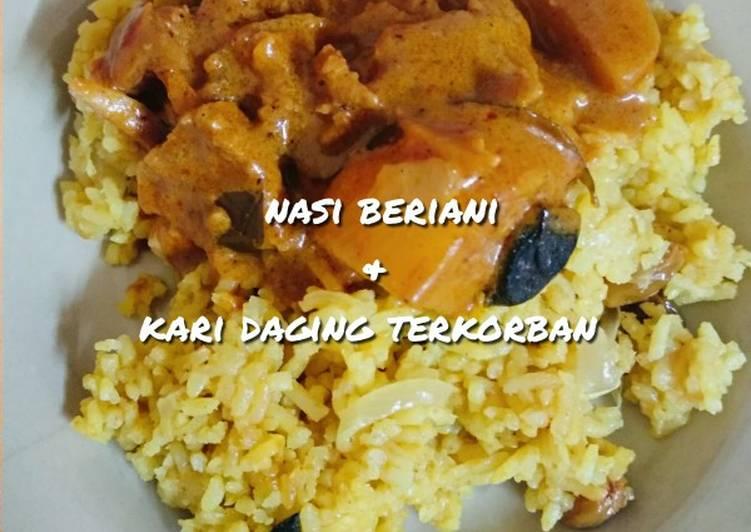 Nasi Beriani & Kari Daging Terkorban - velavinkabakery.com