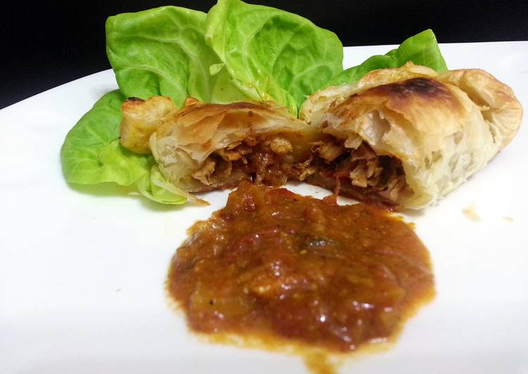 Recipe: Delicious Chicken Curry Puff