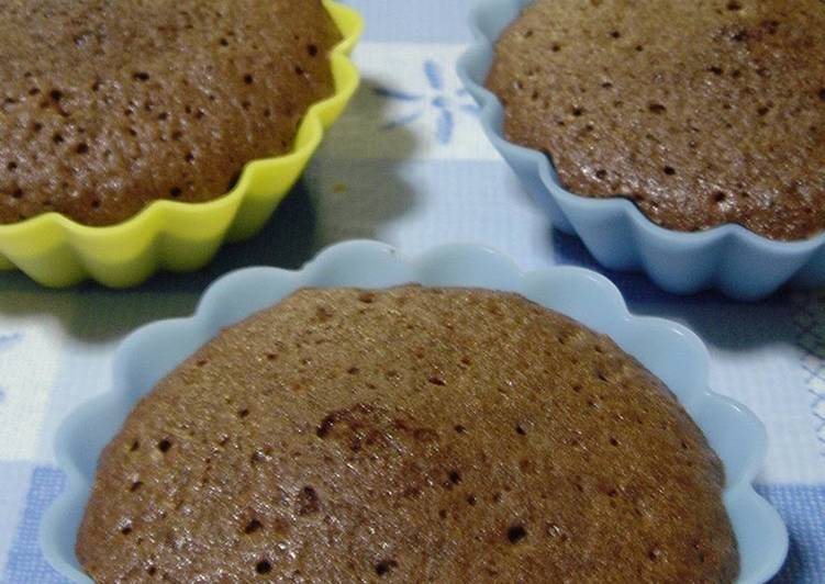 Salted Chocolate Cakes Delicious with Konbucha