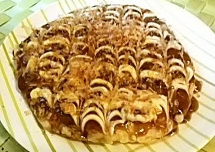 Recipe of Speedy Simple and Delicious! Fluffy Osaka-style Okonomiyaki