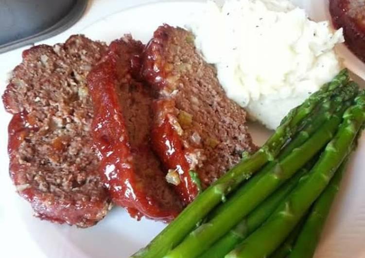 Delicious Meatloaf Dinner