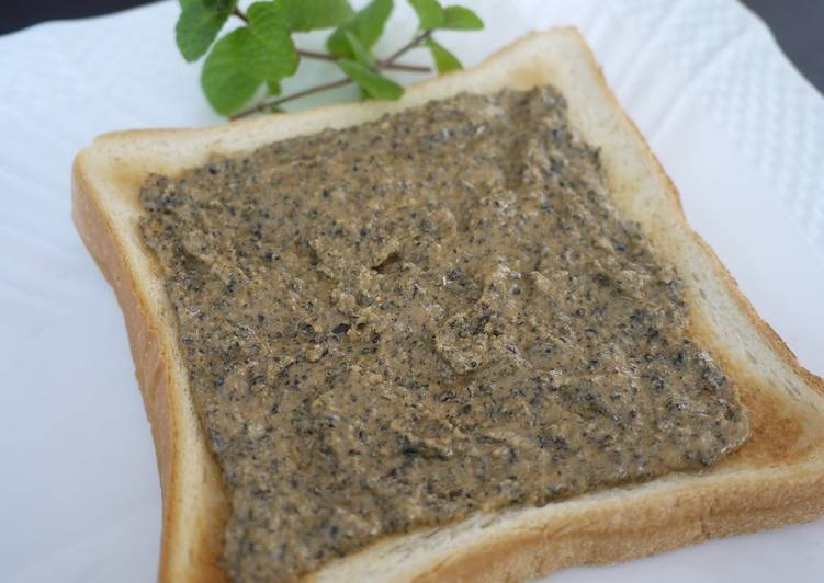 15 Minute How to Make Summer Aromatic! Kinako Maple Black Sesame Seed Toast