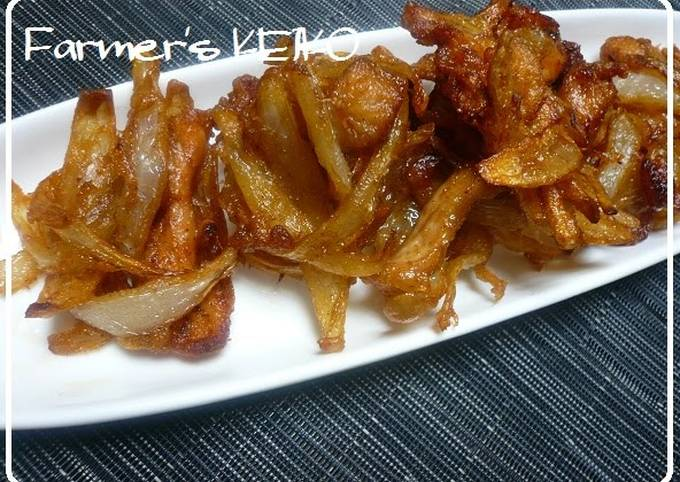 Recipe: Tasty Farmhouse Recipe: Chinese-style Onion Kakiage Fritters