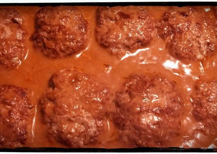 Scrumptious Salisbury Steak