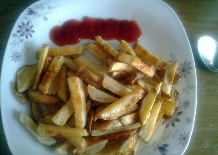 Simple Guide to Prepare Tasty baked French fries