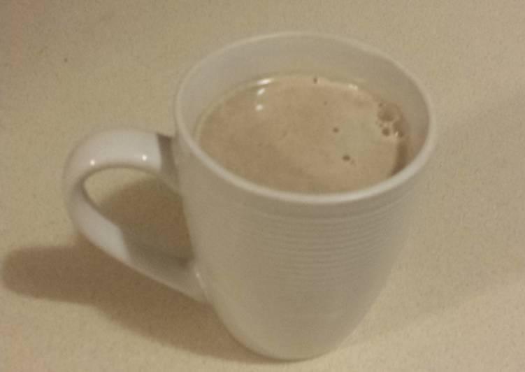 Carob hot drink