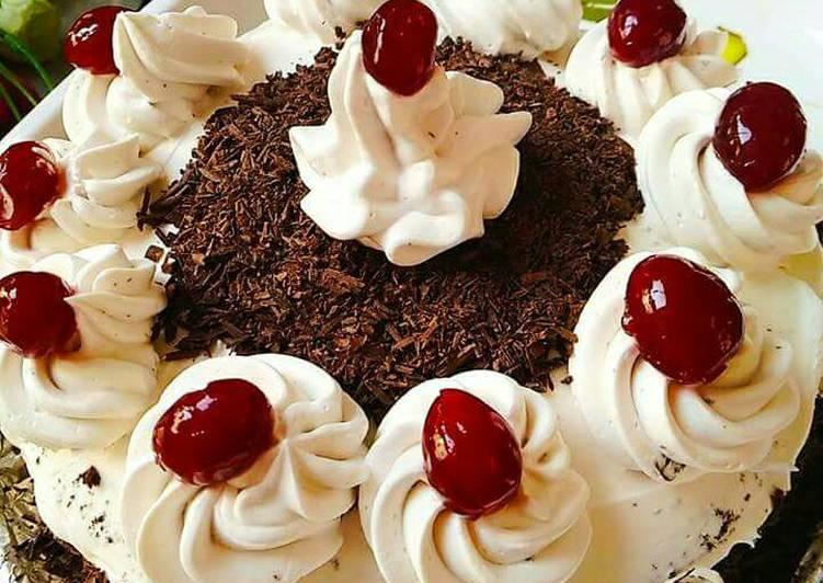 Egg less Black Forest Cake