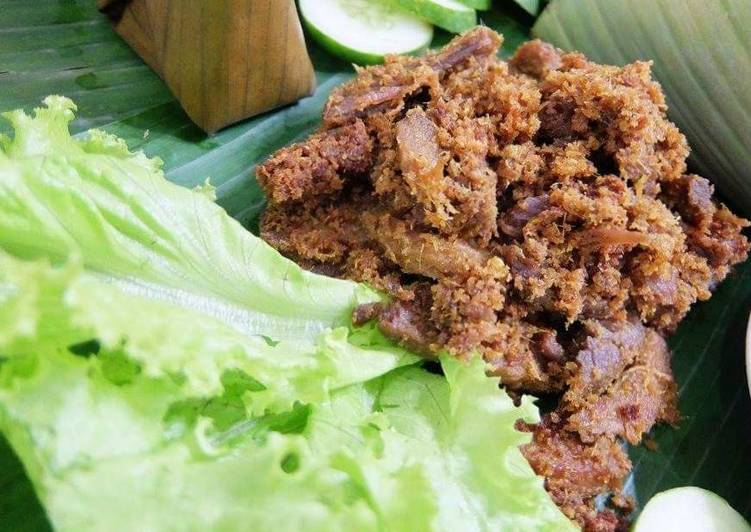 Easiest Way to Prepare Yummy Indonesian Herbs Fried Beef (Empal)