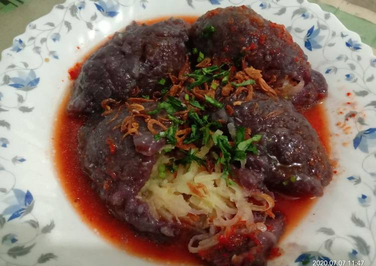 Resep Cai pao/alias sayur di bungkus.khas BAA Bikin Ngiler