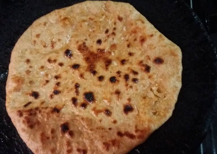 Step-by-Step Guide to Make Super Quick Homemade Potato Onion paratha