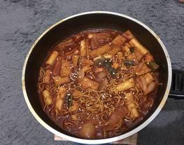 Tabbokki korea ala mimih/kue beras korea
