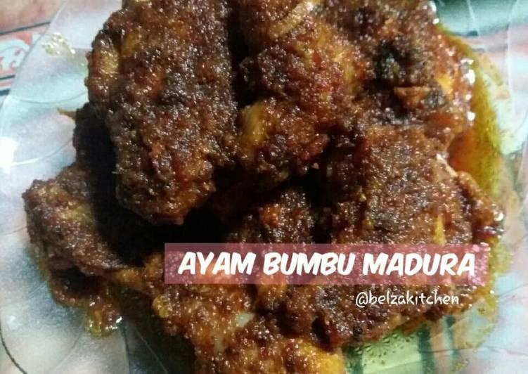 Resep Ayam Bumbu Madura oleh Belza Syarifudin - Cookpad