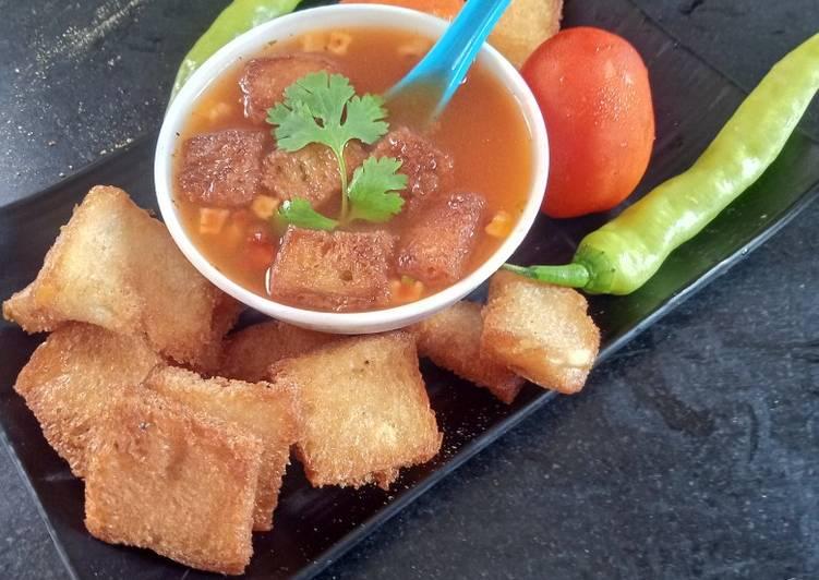 Recipe of Perfect Spicy Tomato Soup