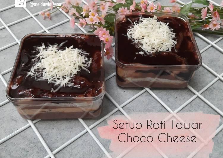 Resep Setup Roti Tawar Choco Cheese Paling Joss