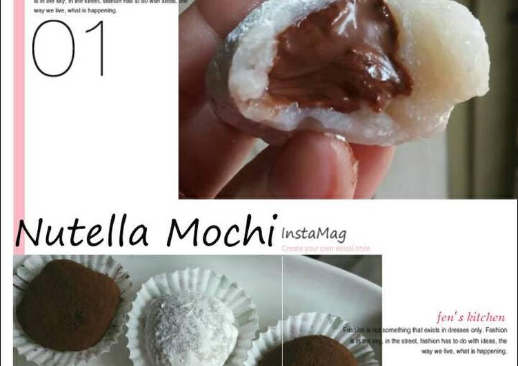 Resep Mochi Oleh Fenny Cookpad