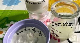 Hình ảnh món Sữa chua úp ngược và sữa chua hy lạp cho bé