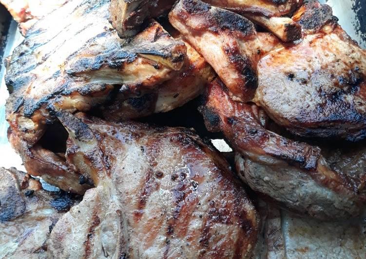 Grilled Porkchop Dorian