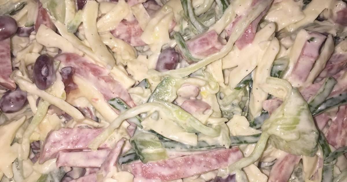 разобрал свежий огурец колбаса сухарики рецепт с фото штукатуренного фасада производится
