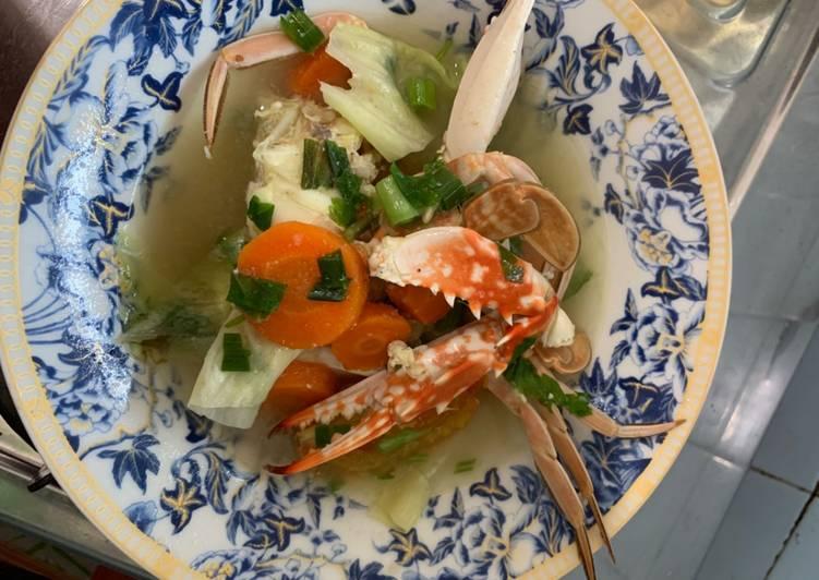 Sup kepiting anti amis