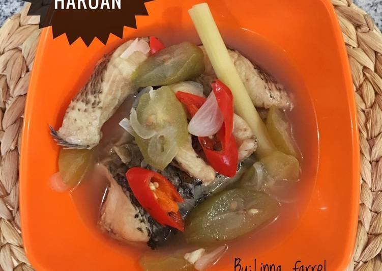 Sup iwak haruan(Ikan gabus)